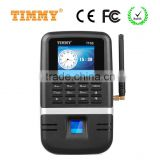 TIMMY GPRS biometric fingerprint attendance reader and access control for banks management (TM68-GPRS)