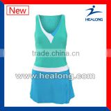 wholesales woman tennis uniform with design