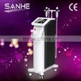 professional fractional rf microneedle machinee/best rf skin tightening face lifting machine/bipolar and monopolar rf