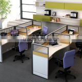 bureau office workstation desk office furniture table designs (SZ-WST732)
