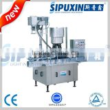 Guangzhou SPX industry derect sale automatic bottle cap screwing machine with CE/GMP certification