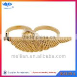 Gold ring jewelry angel wing ring 2014