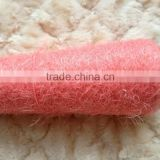 nylon feather yarn dyed on cone for fabric/sweater/scarf