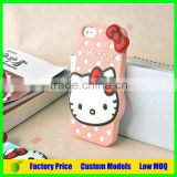 Hello kitty Silicone 3d phone case for Samsung Galaxy Grand Prime G530 cell phone case back cover