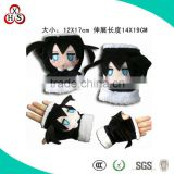 2013 cartoon soft fur hand muffs