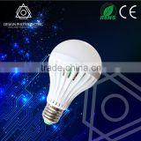 China Supplier E27 Lamp LED Bulb CE RoHS Plastic Housing Wholesale 3W 5W 7W 9W 12W Best Selling