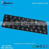 High luminous efficacy rectangle 28x 1/3w led tunnel lighting circuit board with clear mask