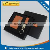 Portable Travel Kit Promotional Gift Business Gift including Name Card Holder And Key Chain