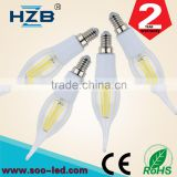 Best selling home health products led candle light e14 led flicker flame candle light bulbs