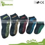 Manufacturing indoor trampoline custom non slip ankle socks