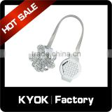 KYOK China wholesale aluminum curtain buckle, diamond curtain accessories curtain tieback curtain fasterner