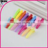 Children's candy color clip plastic clip accessories girl hair accessories child hair accessories