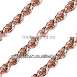 2014 Latest New Gold Chain Designs For Men Metal Chain Necklaces MLCC006