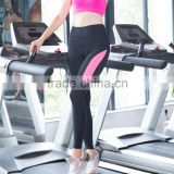 Sports Wear Athletic Gym Workout Fitness Wear Yoga Wear Capri Compression Wear Thermal Tights, Pink And Black Legging