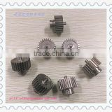 Powder metallurgy planetary gears for food machinery