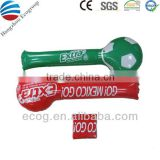Customized hot sale PE cheering stick