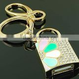 1 gb - 256 gb fashion classic form diamond key chain usb stick wholesale free shipping
