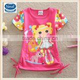 2-6y (SG002) wholesale baby clothing cheap supplier t shirts kids girls nova kids wear
