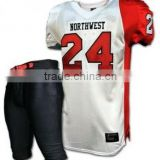custom American Football Uniforms / American Football Uniforms / American Football Jerseys / 100% Polyester Padded Football Pant