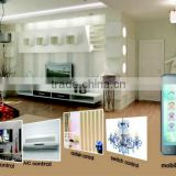 RF 433 Mobile phone remote control home automation system, remote control light switch