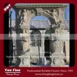 Natural Carving Stone Door Surround For Sale