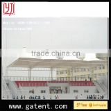 China factory PVDF Cover Q235 Steel white wedding tent for sale Guarantee year 10years permanent structure