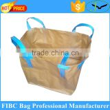 high quality non porous pp woven jumbo bags,1000kg waterproof large sand ton bags from China factory