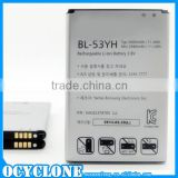 Spice mobile battery for LG G3 BL-53YH Li-Ion Battery 3.8V 3000mAh