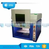 Protective Cover Equipped 20W 30W 50W Fiber Laser Marking Machines CE ISO9001 For European Market
