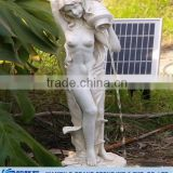 design of lady artificial outdoor garden water fountain                                                                         Quality Choice