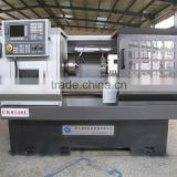 CCK6140L china cnc machines, with big spindle bore and Fanuc controller machining parts machine