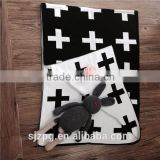 Baby Cross style knit blanket knitted cotton baby swaddle blanket