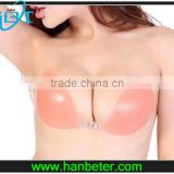 Fashion Design and CE&RoHS standard nude mature silicone breast bra suit for all size