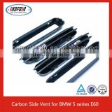 Auto parts Black Fender air flow vent Side Grill for BMW M5 E39 E60