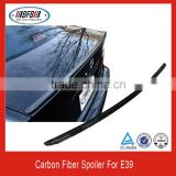hot selling 1996-2003 5 series FOR BMW E39 carbon lip car spoiler rear wing
