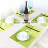Hot selling PVC placemat /hotel western hot food table mat                                                                         Quality Choice