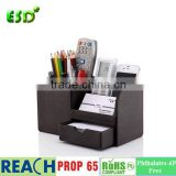 Desk Stationery Organizer Storage Box Pen/Pencil ,Cell phone, Business Name Cards Remote Control Holder