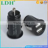 5v 2.1A Mobile Phone Charger Universal Dual USB Car Charger For Meizu M1 note MX4 Pro MX3 M031 MX2 M032 MX Oneplus one.