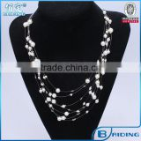 2014 new design white beads mother of pearl evil eye wholesale