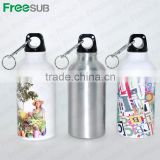 Wholesale sublimation 600ml blank sport aluminum water bottles personalized