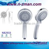 water-saving hand shower head,3 functions water-saving shower,water-saving handheld shower