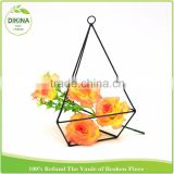 wholesale handicrafted outdoor & indoor wedding living room wrought iron Garden outdoor decor jewelry flower metal planter stand