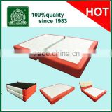 Very strong solid bed frame/two twin size combined king bed frame/split king size slat bed frame