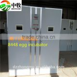 hot sale 8448 egg incubator for sale made in China electric/ poultry chicken eggs hatcher incubator