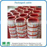High speed for electrical wire Coiling Machine to electrical wire measure and electrical wire coil package