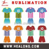2016 Fashion Design Dri Fit Sublimation Football Jerseys Sports Soccer Jersey , Cheap Custom Footall Soccer Uniform