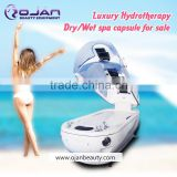 spa capsule hydro massage, aqua massage machine professional/ popular in USA spa capsule dry hydro massage