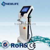 NL-TM800 hot sales!face skin test machine+thermal rf and fractional rf microneedle+skin rejuvenation mini machine