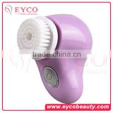 EYCO BEAUTY cleansing facial brush all brushes how to clean makeup brushes retractable lip brush