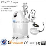 Beauty cyclone radiofrequency for skin PEMF Shape